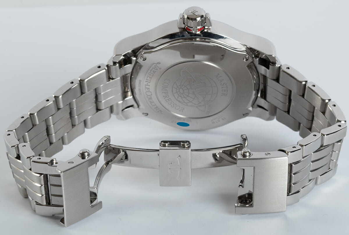 Open Clasp Shot of Master Compressor GMT 24 Hour