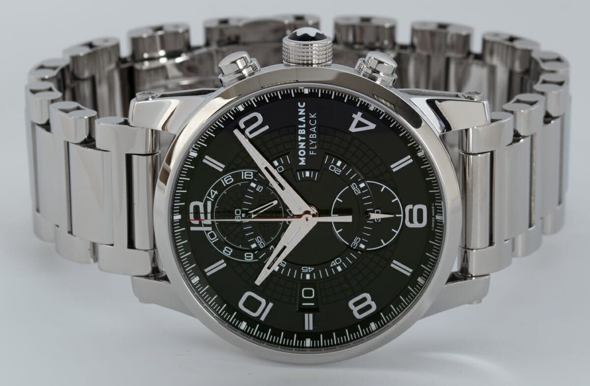 Front View of Timewalker TwinFly Chrono