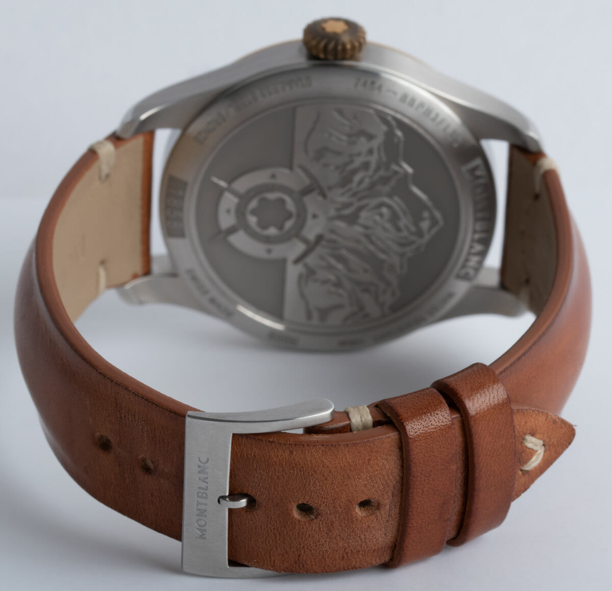 Rear / Band View of 1858 Chronograph
