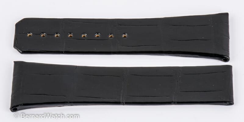 Dial Shot of Alligator strap