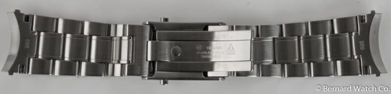 Crown Side Shot of Speedmaster Bracelet