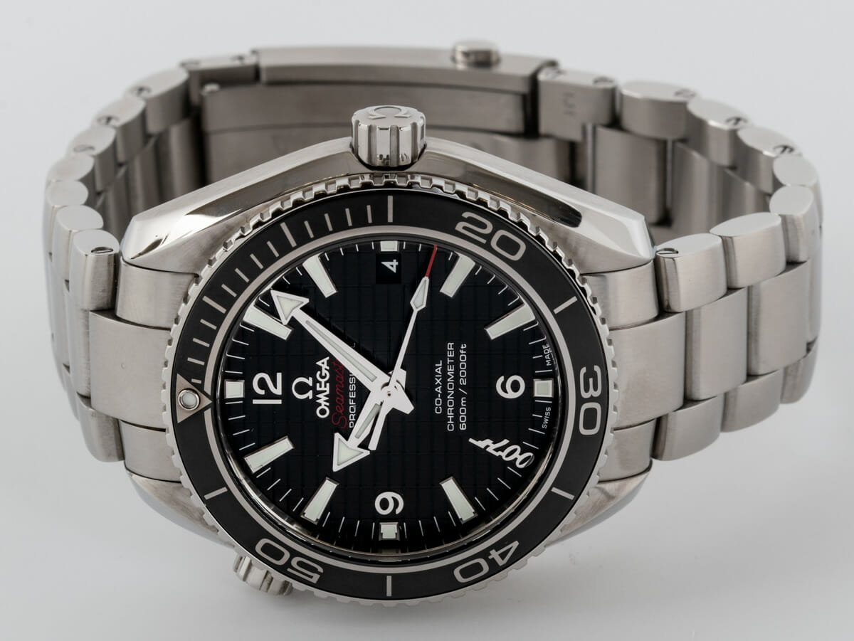 Front View of Seamaster Planet Ocean 'Skyfall' Limited Edition