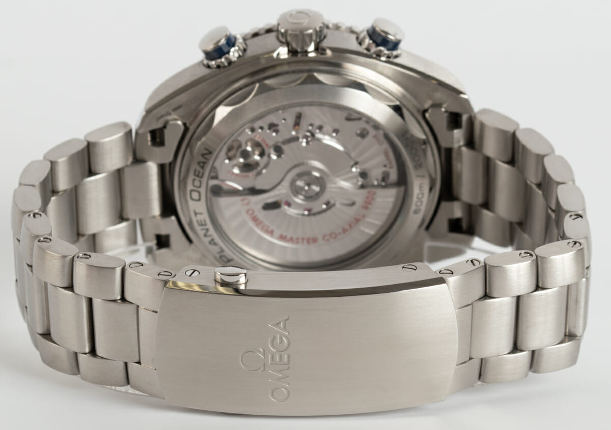 Rear / Band View of Planet Ocean 600M Chronograph