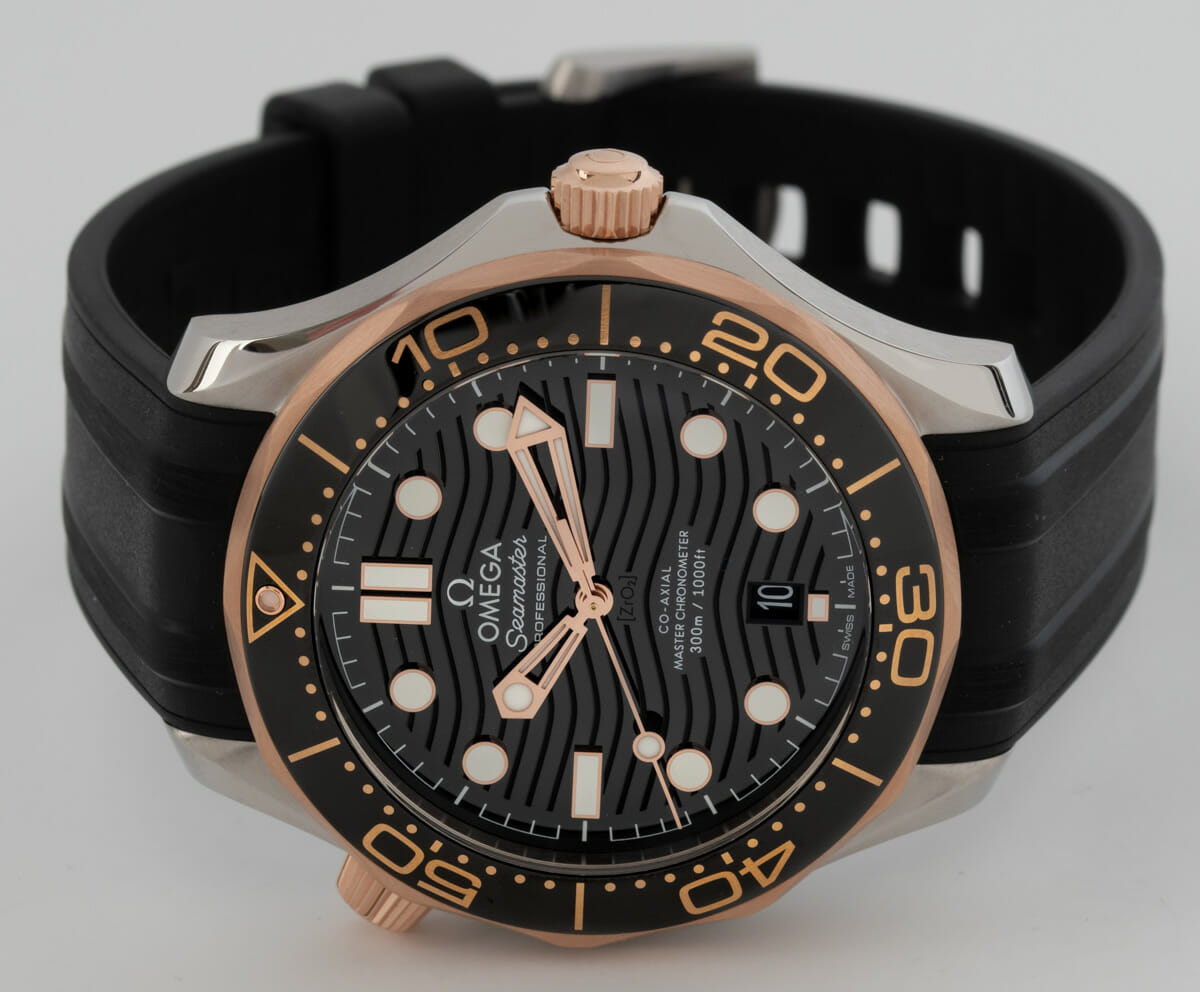 Front View of Seamaster Diver 300M