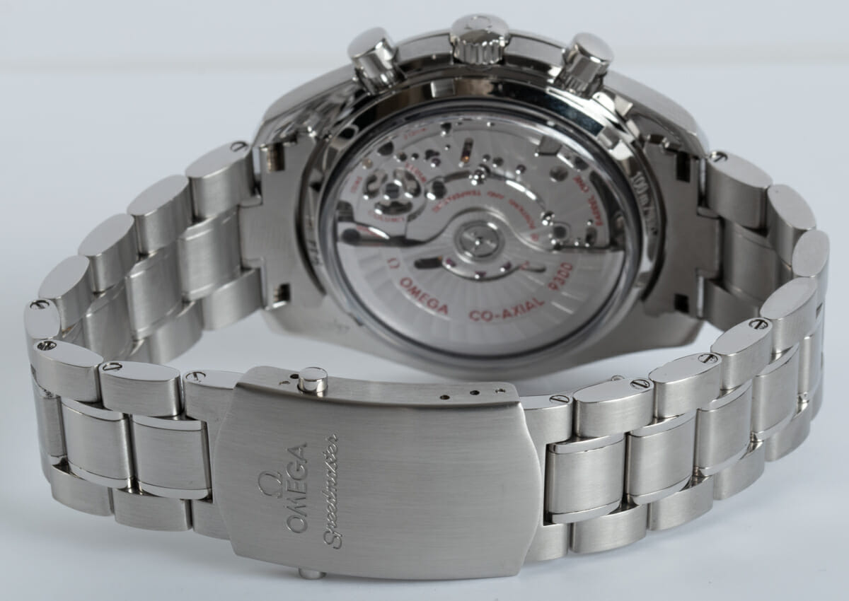 Rear / Band View of Speedmaster Moonwatch Co-Axial Chronograph