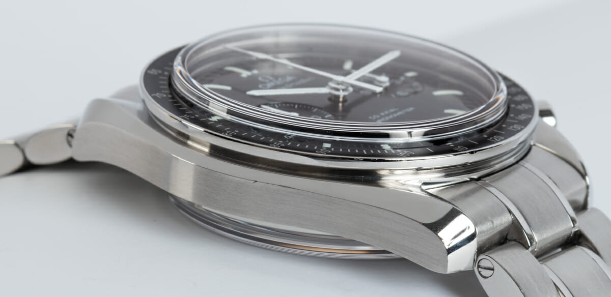 9' Side Shot of Speedmaster Moonwatch Co-Axial Chronograph