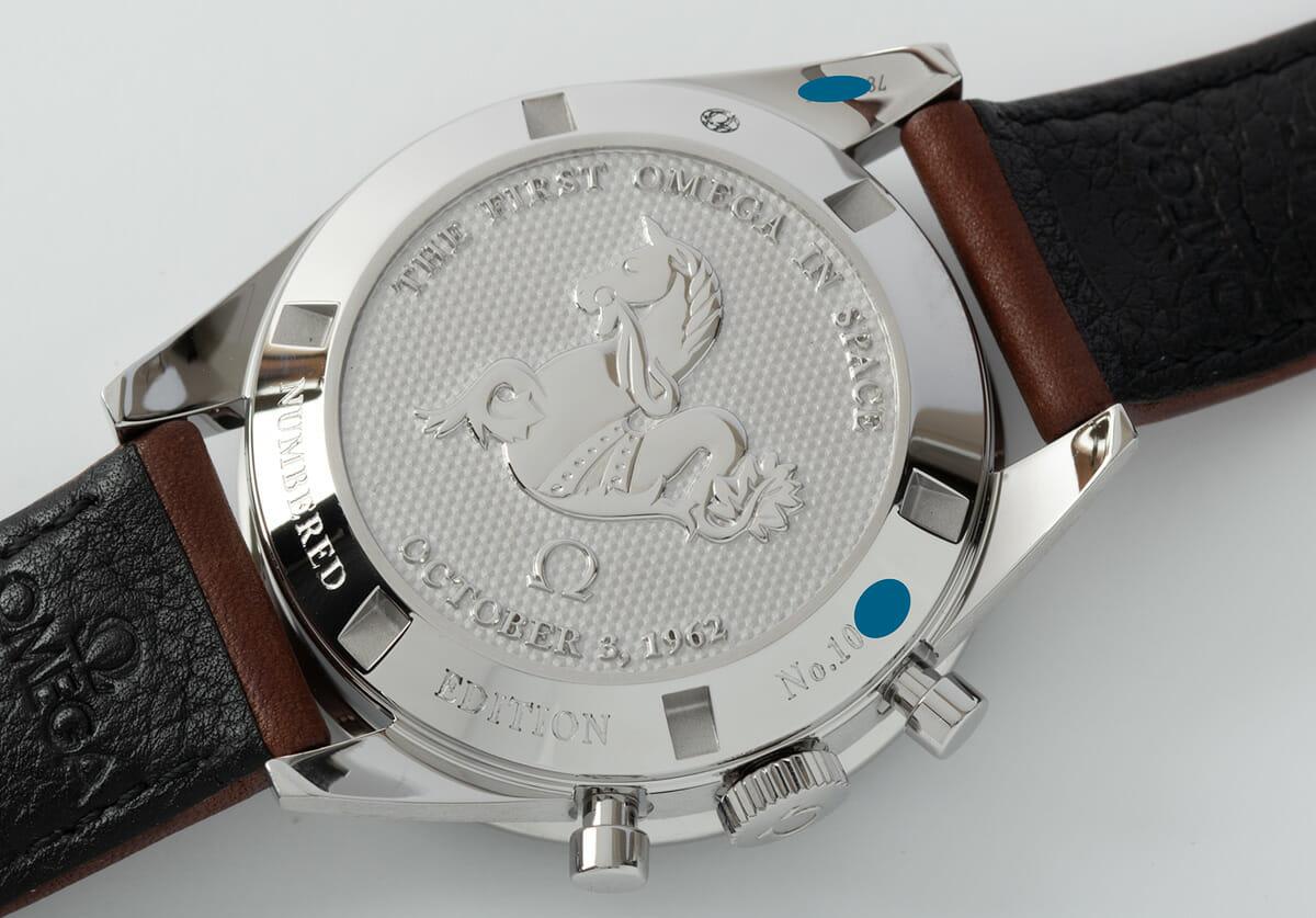 Caseback of Speedmaster Moonwatch 'FOIS'