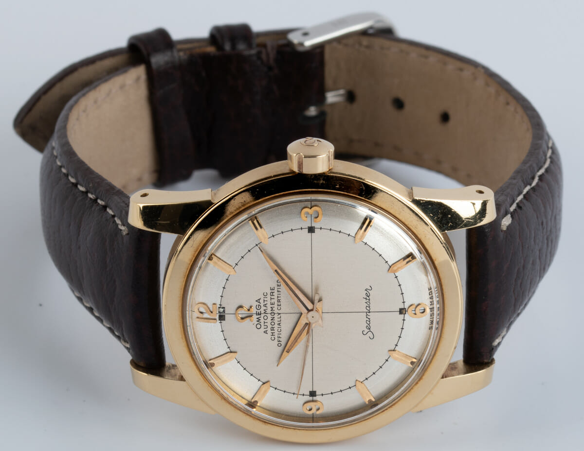 Front View of Seamaster Vintage