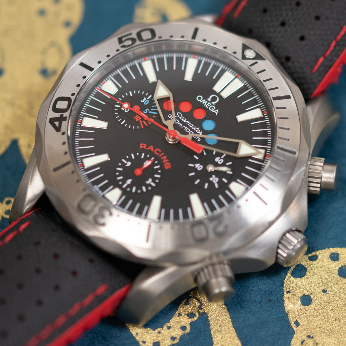 Extra Shot of Seamaster Racing Chronometer