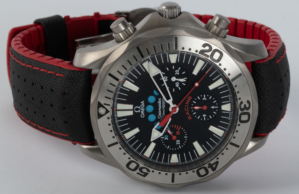 Front View of Seamaster Racing Chronometer