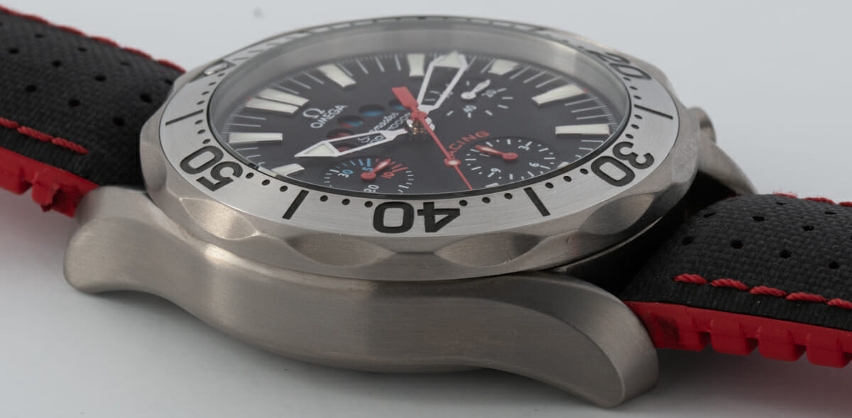 9' Side Shot of Seamaster Racing Chronometer