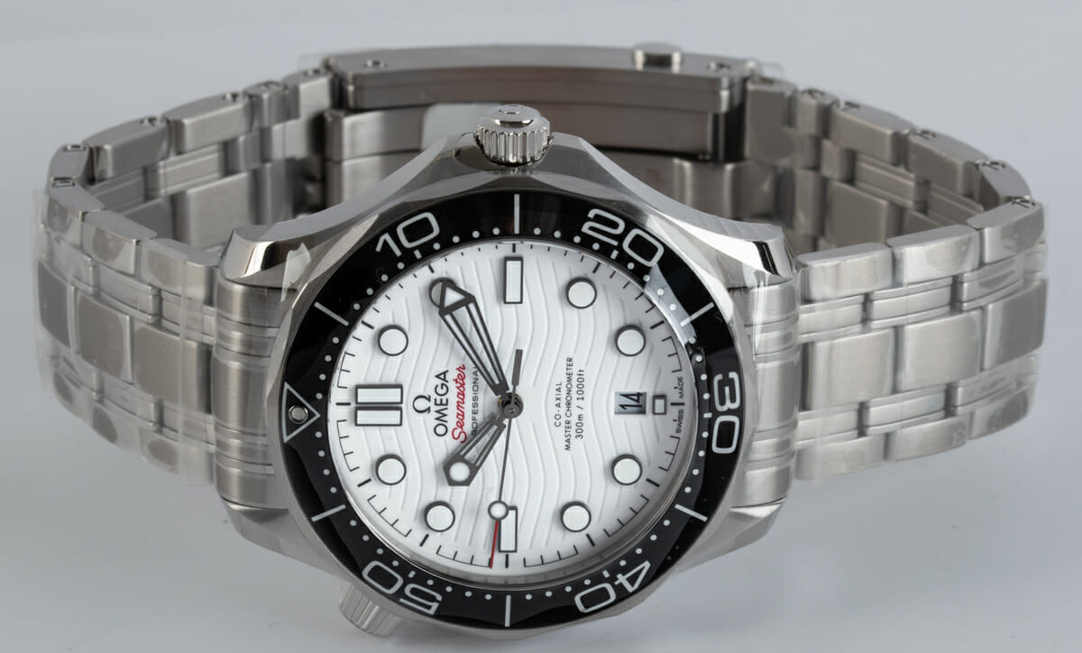 Front View of Seamaster Diver 300M Master Chronometer