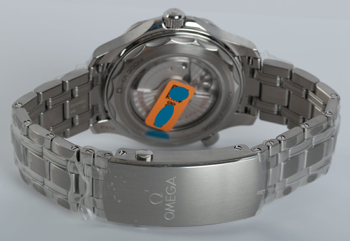Rear / Band View of Seamaster Diver 300M Master Chronometer