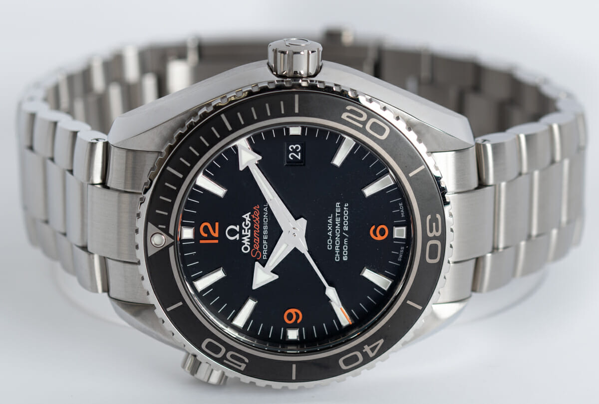Front View of Seamaster Planet Ocean Big Size