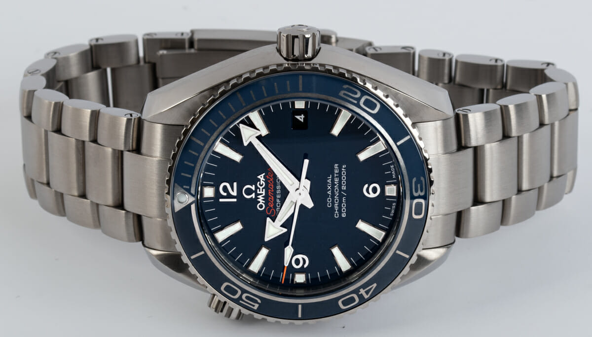 Front View of Seamaster Planet Ocean