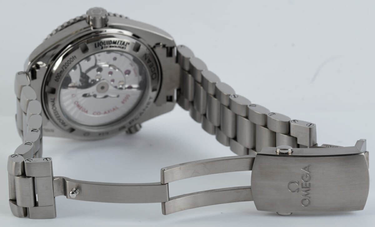 Open Clasp Shot of Seamaster Planet Ocean
