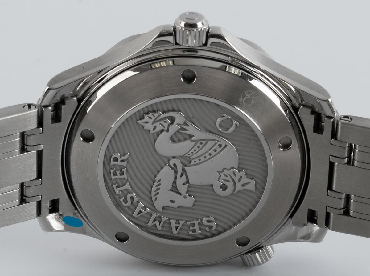 Caseback of Seamaster Diver 300M