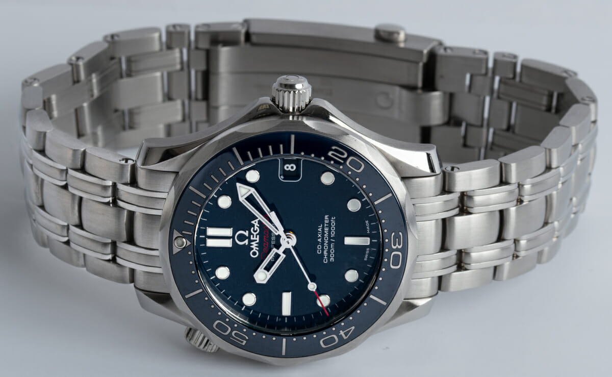 Front View of Seamaster Diver 300M Midsize