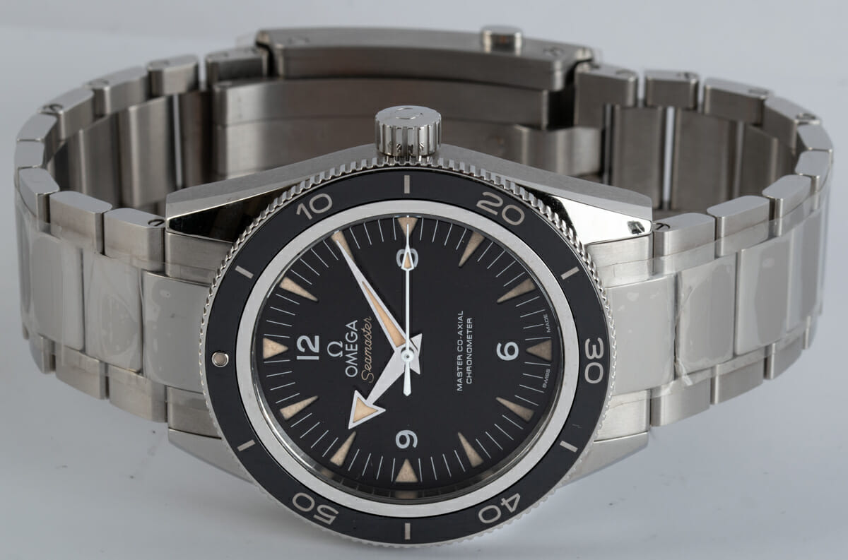 Front View of Seamaster 300 Master Co-Axial