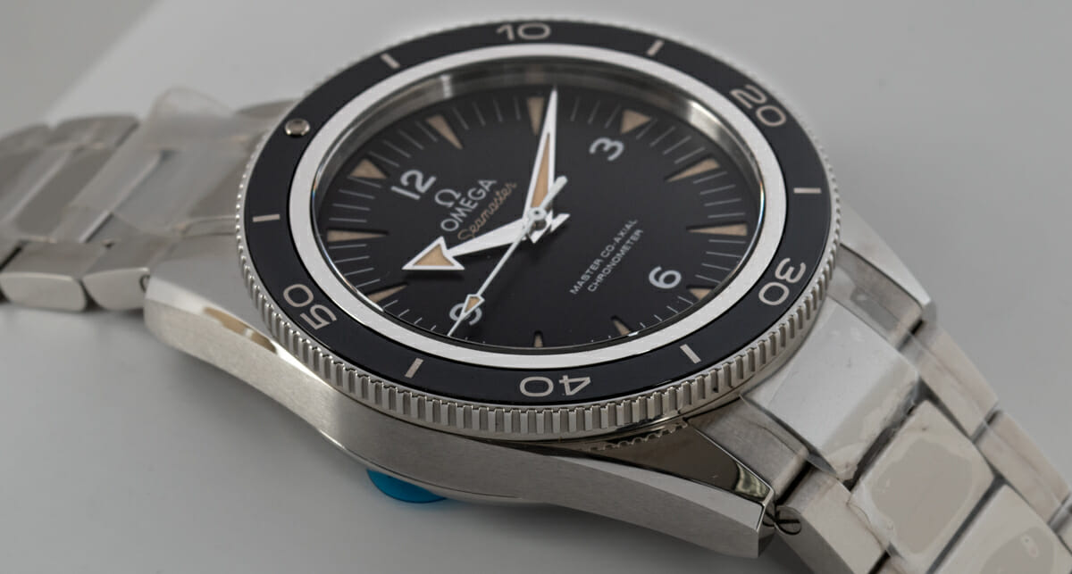 9' Side Shot of Seamaster 300 Master Co-Axial