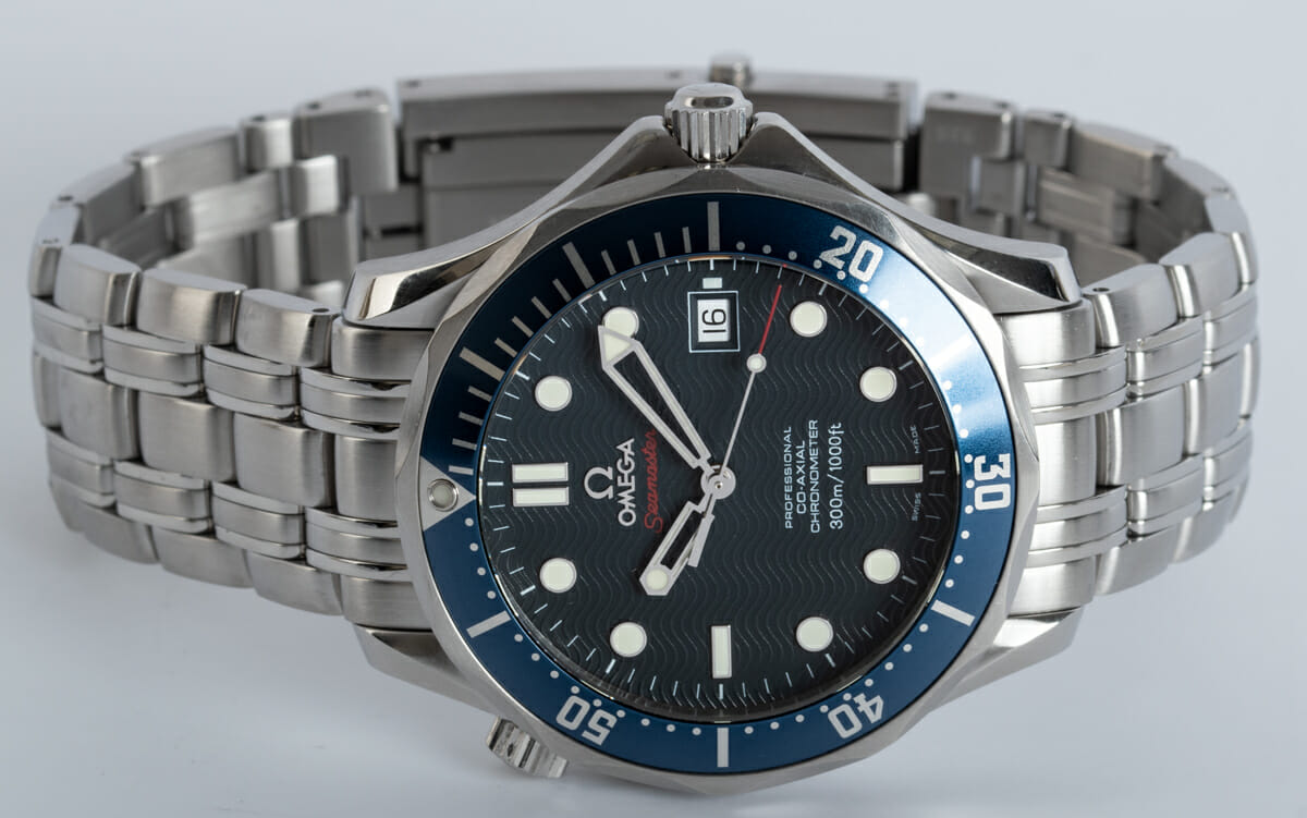 Front View of Seamaster Professional Co-Axial