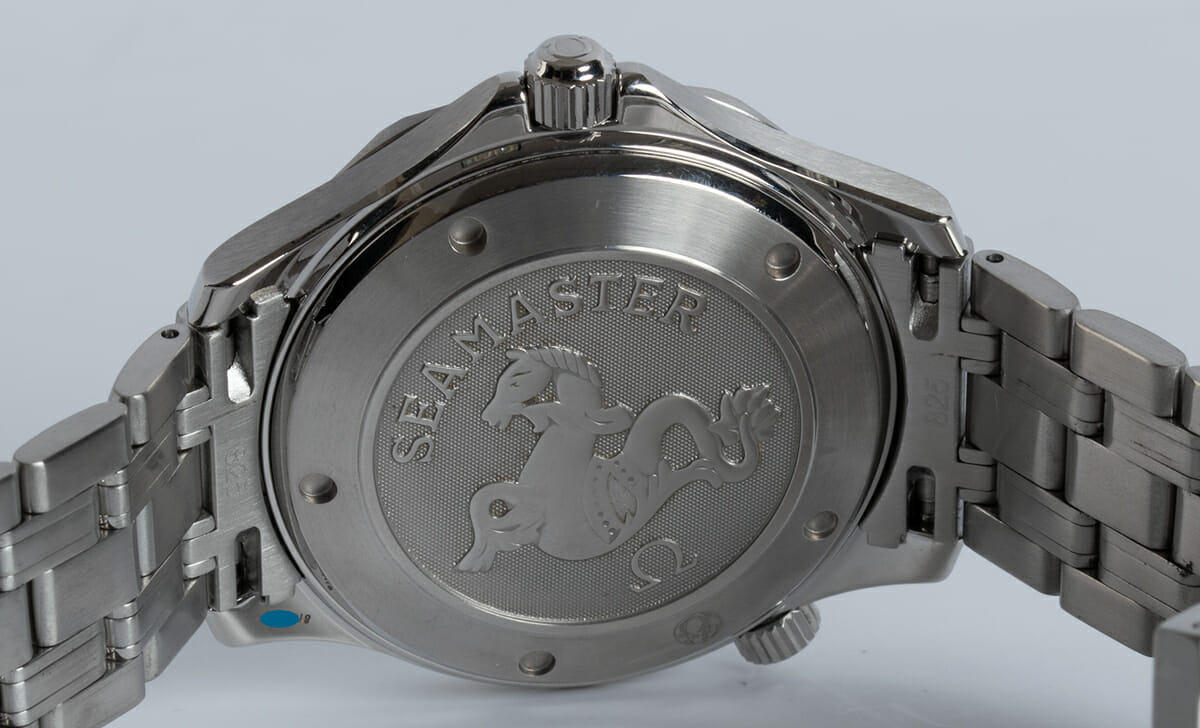Caseback of Seamaster Professional Co-Axial