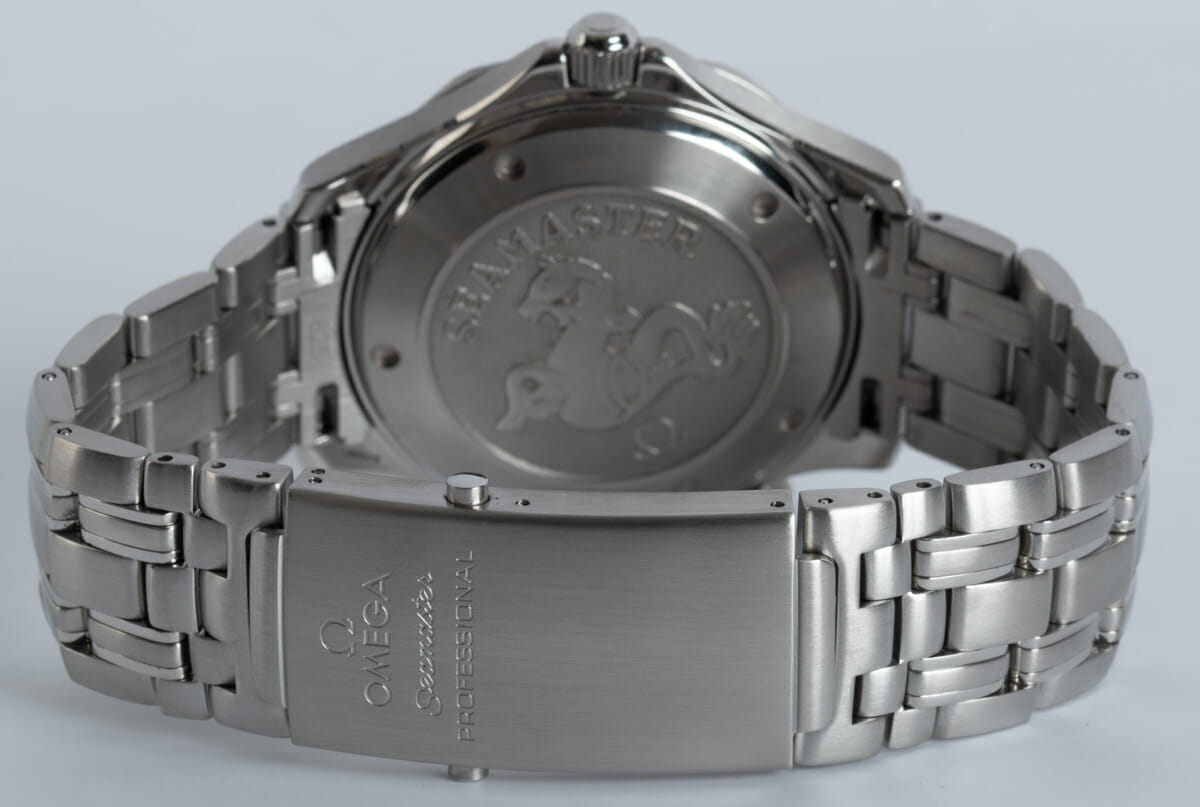 Rear / Band View of Seamaster Professional Co-Axial