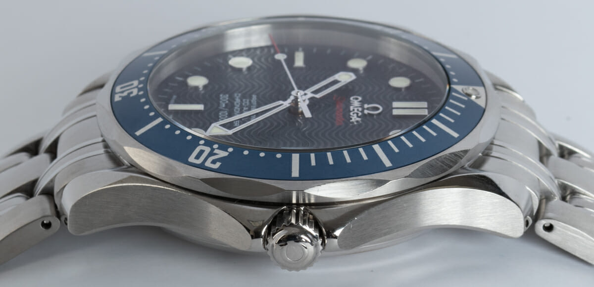 Crown Side Shot of Seamaster Professional Co-Axial