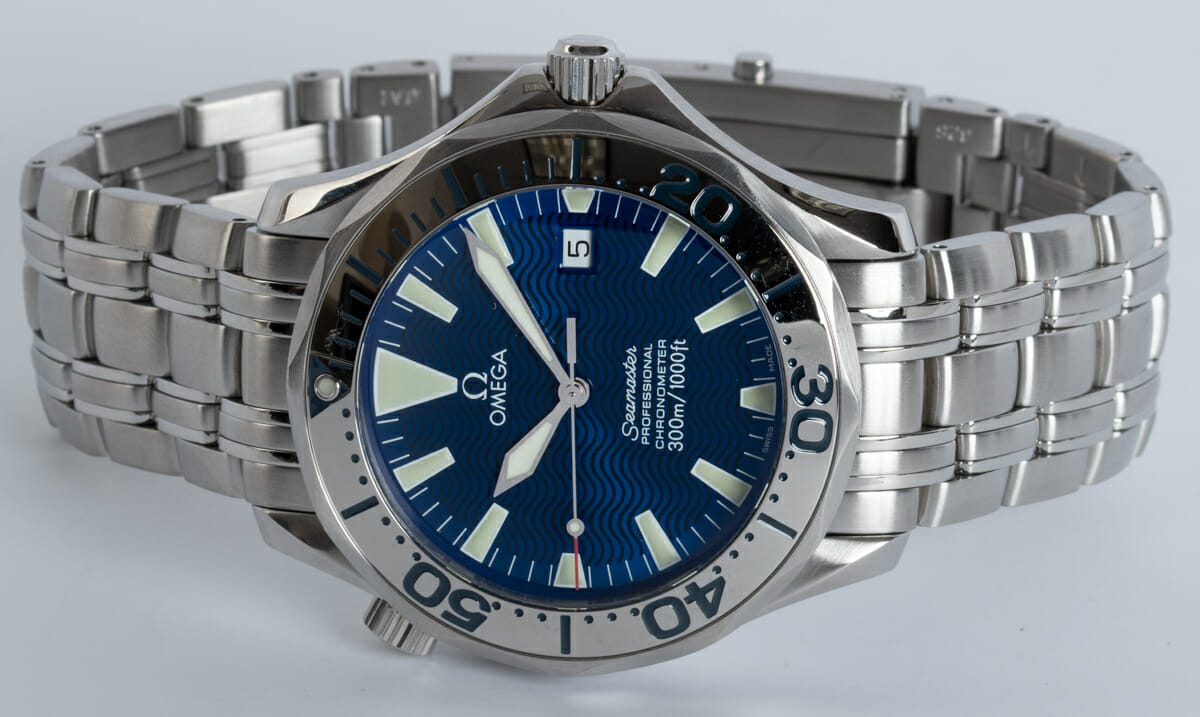 Front View of Seamaster Professional