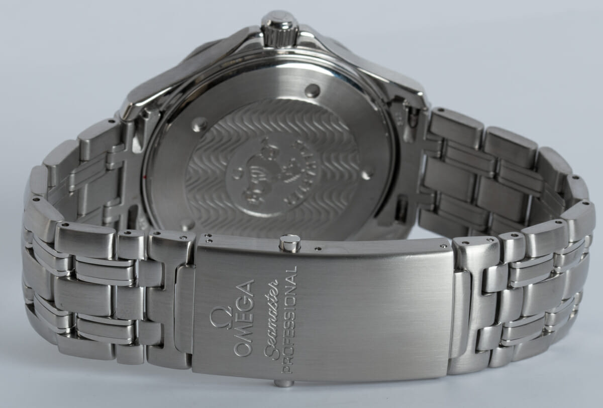 Rear / Band View of Seamaster Professional