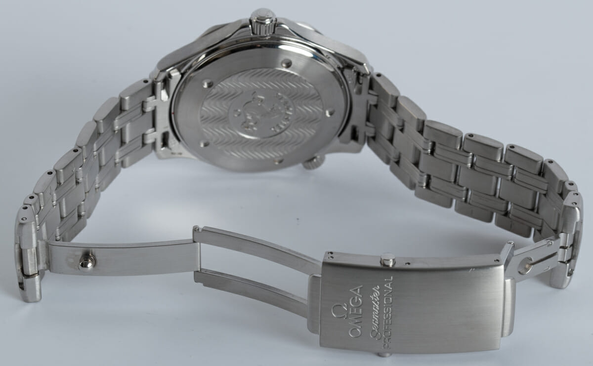 Open Clasp Shot of Seamaster Professional