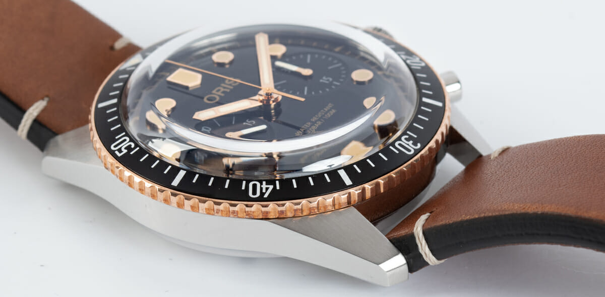 9' Side Shot of Divers Sixty-Five Chronograph