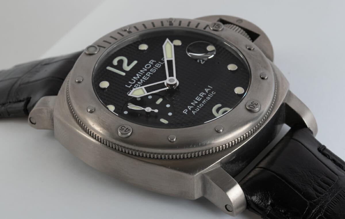 9' Side Shot of Luminor Submersible