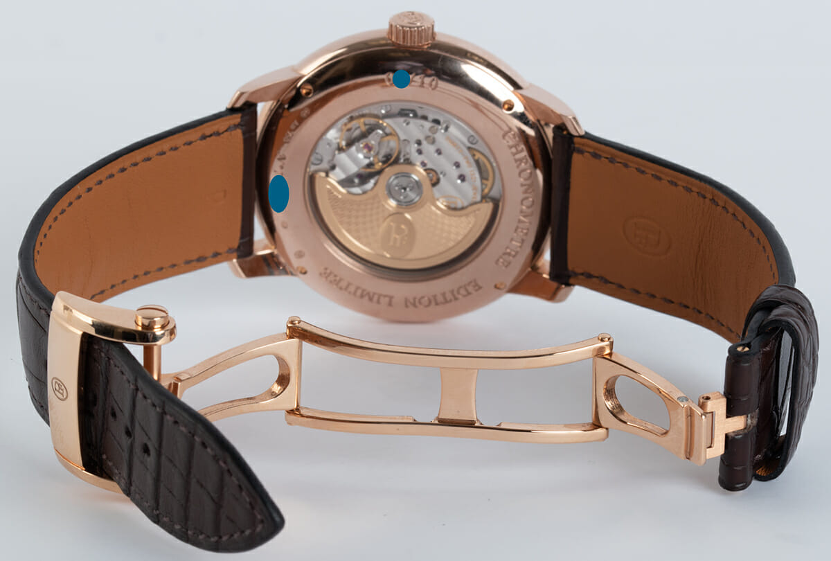 Open Clasp Shot of Toric Chronometre Grand