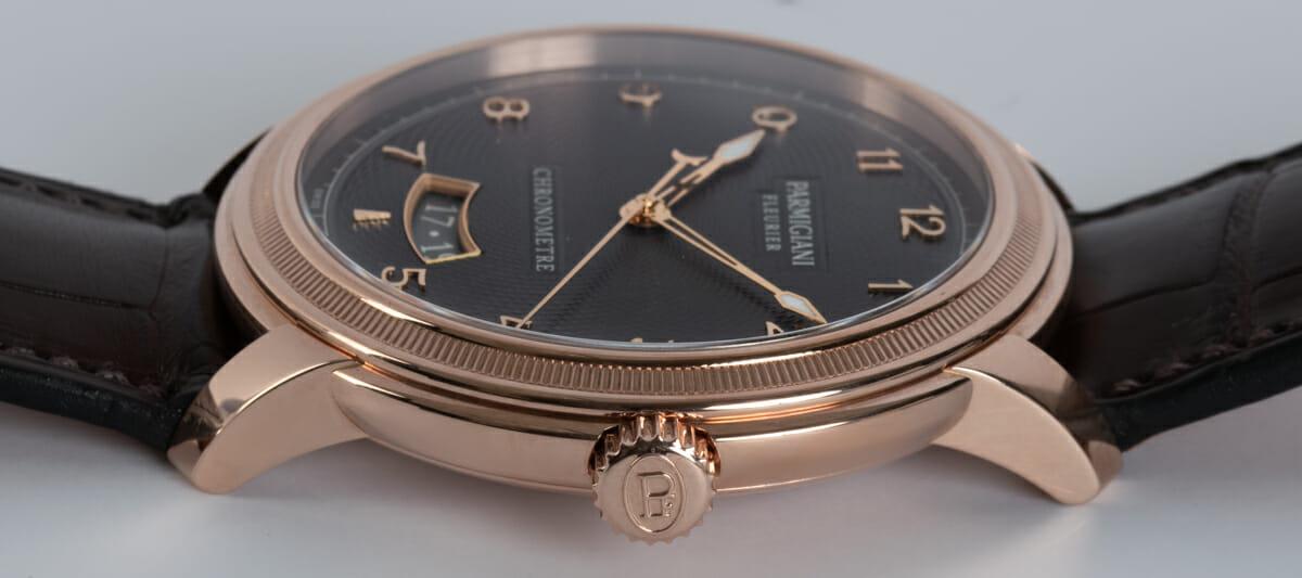 Crown Side Shot of Toric Chronometre Grand