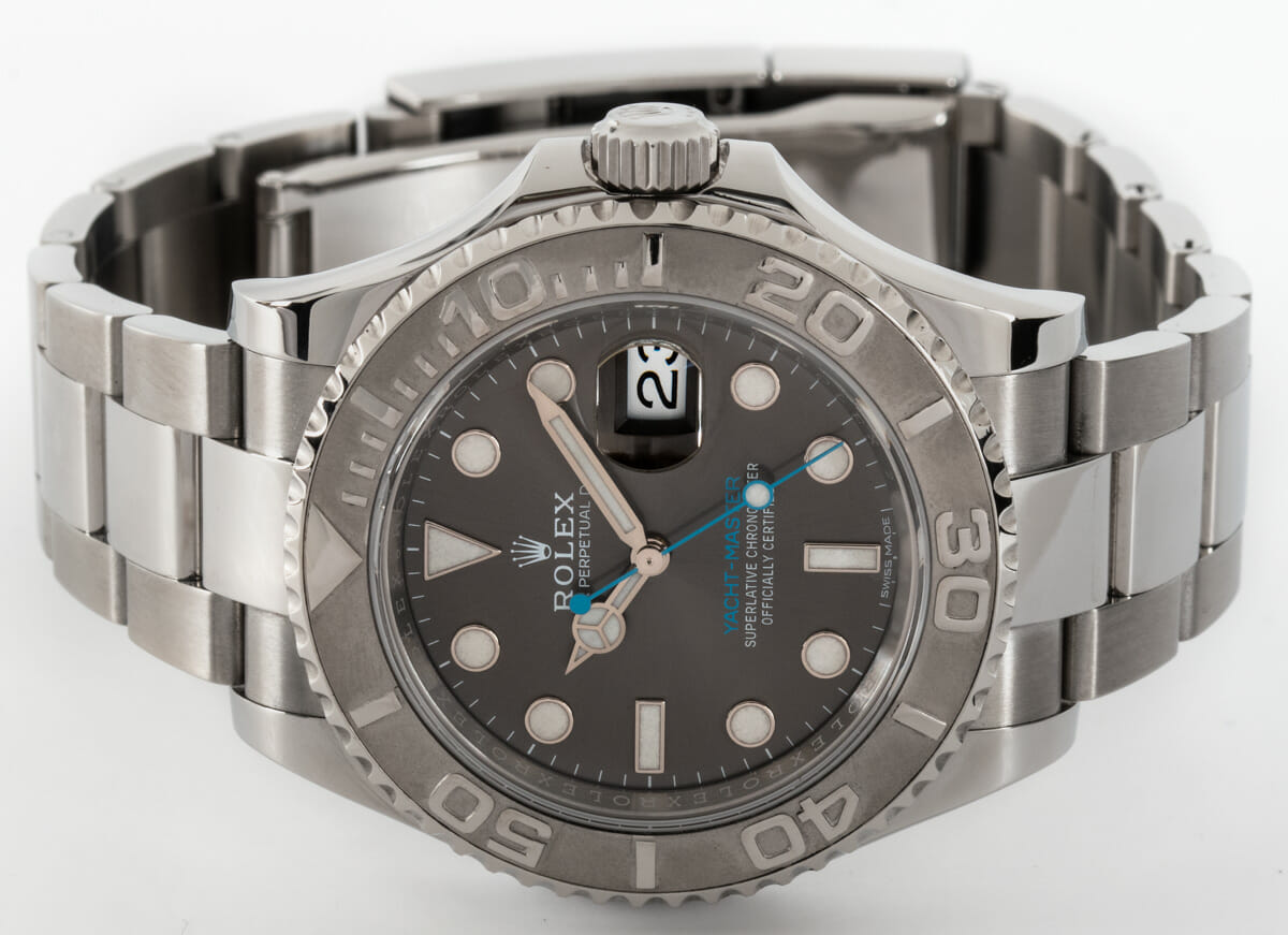 Front View of Yacht-Master