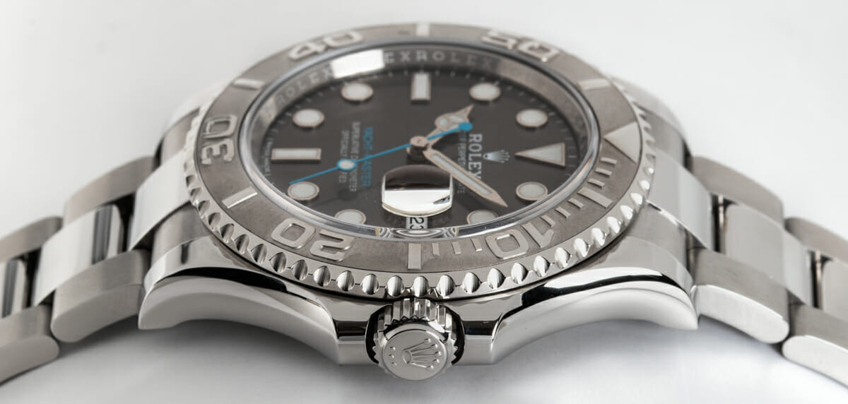 Crown Side Shot of Yacht-Master
