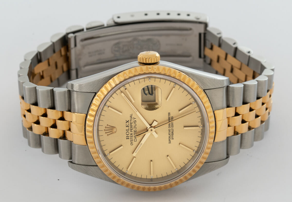 Front View of Datejust