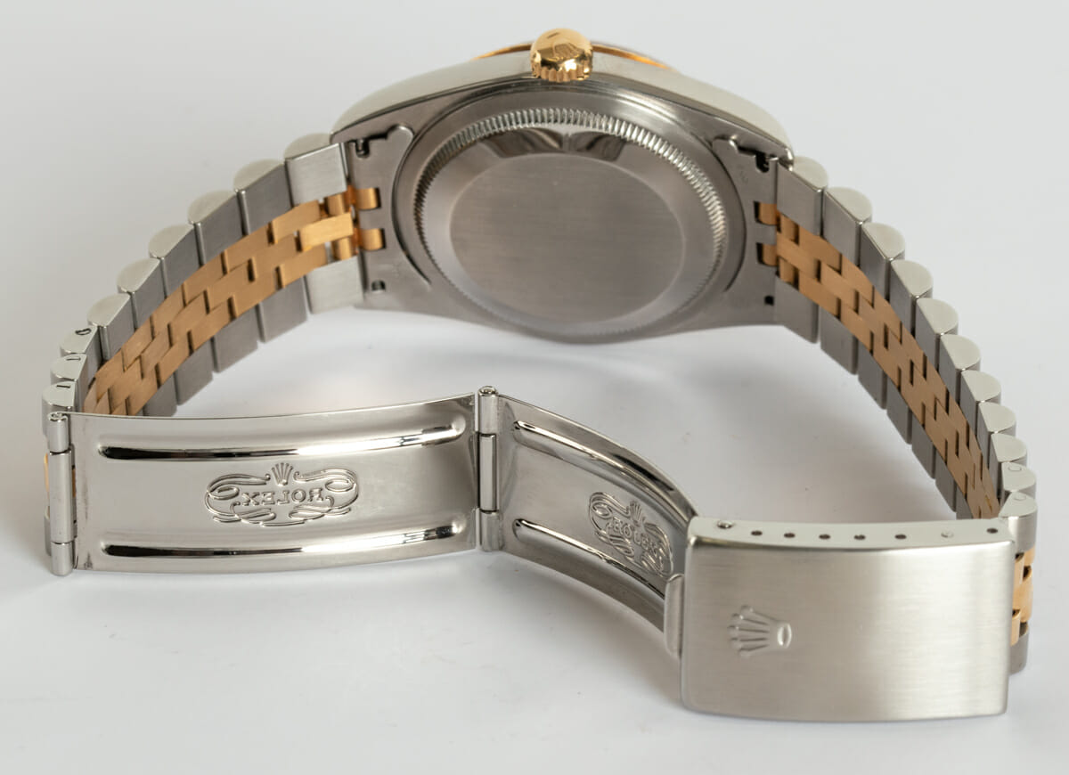 Open Clasp Shot of Datejust