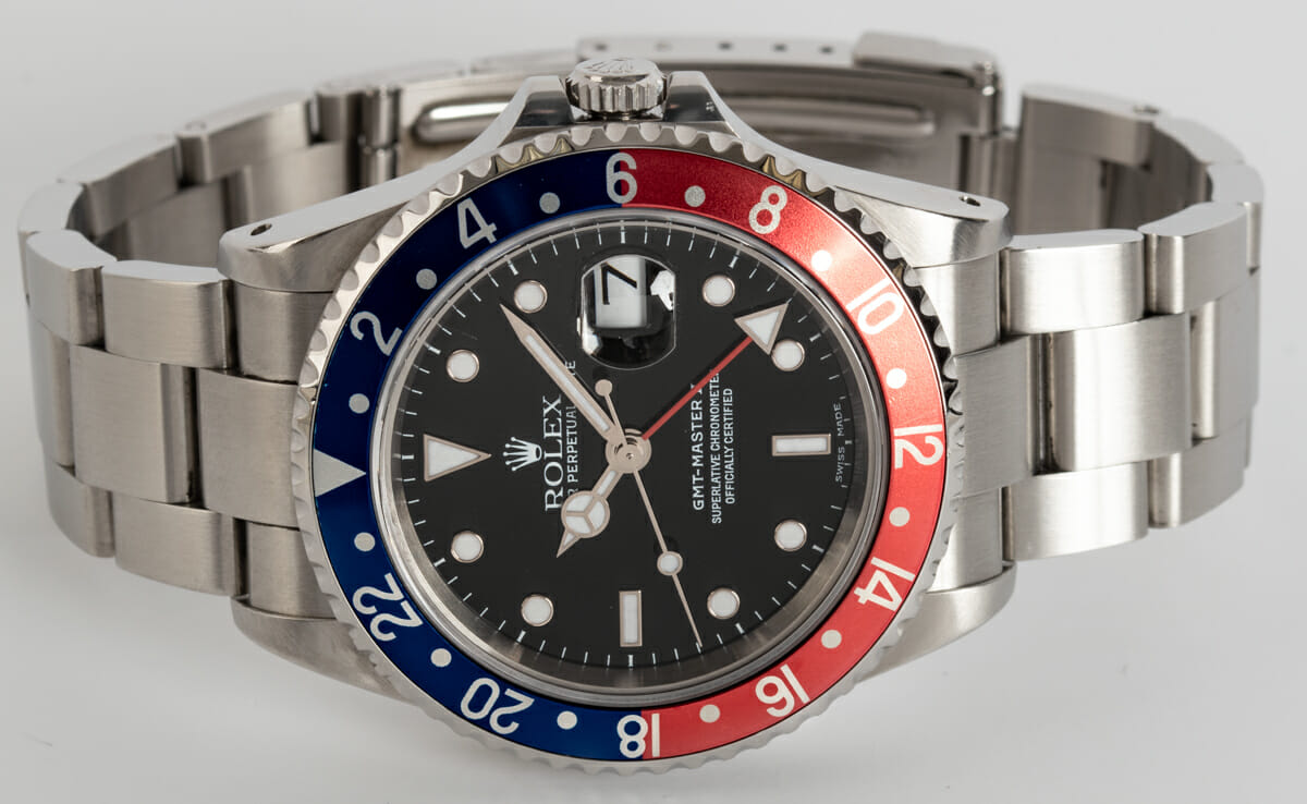 Front View of GMT-Master II 'Pepsi'