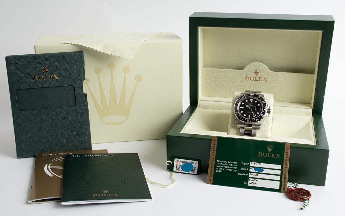 Box / Paper shot of GMT-Master II