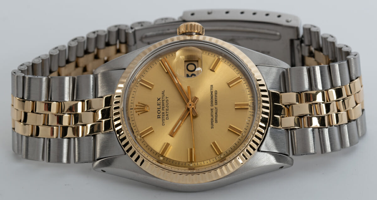 Front View of Datejust - Wide Boy Sigma