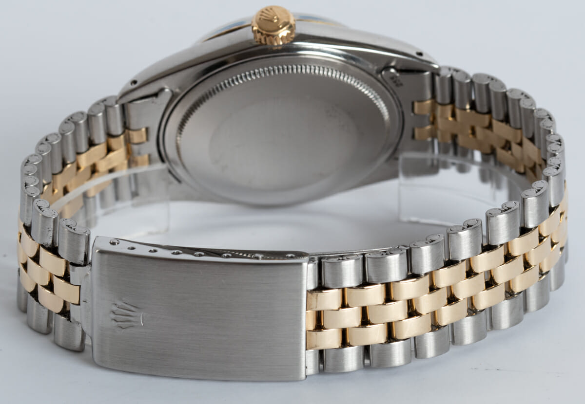 Rear / Band View of Datejust - Wide Boy Sigma