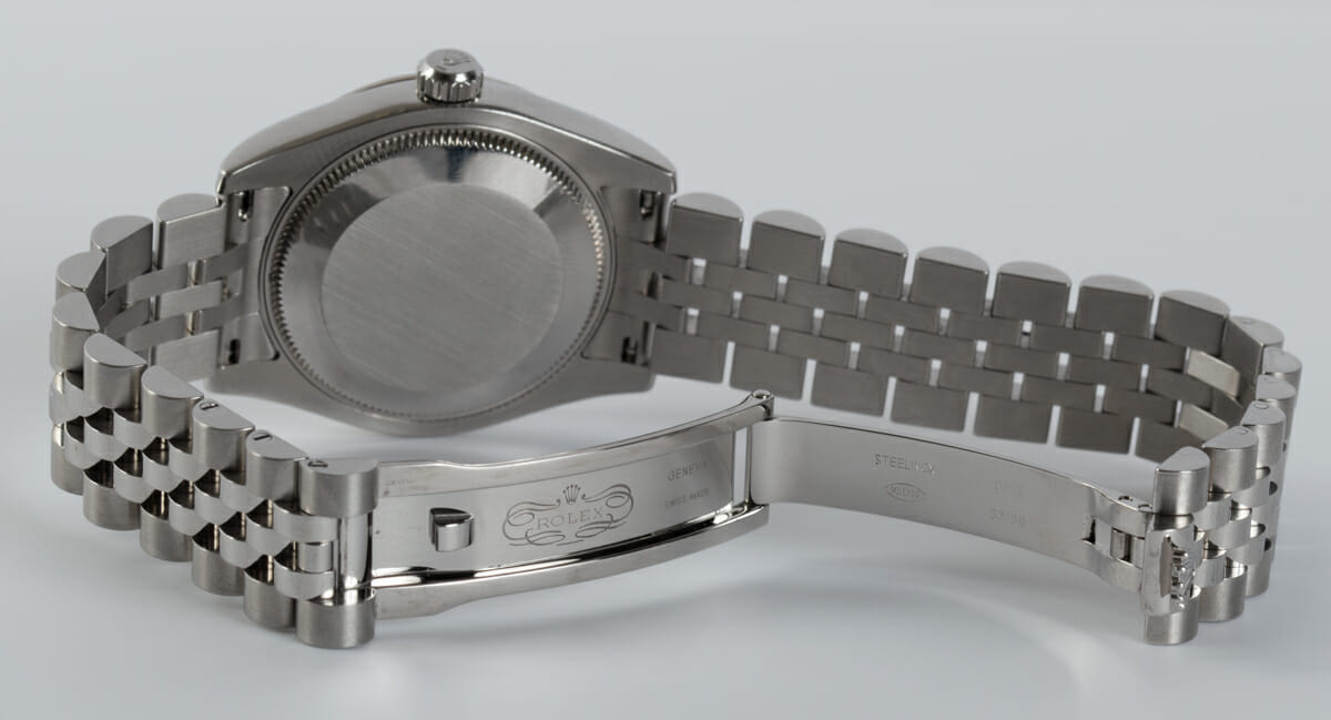 Open Clasp Shot of Datejust Midsize 31MM