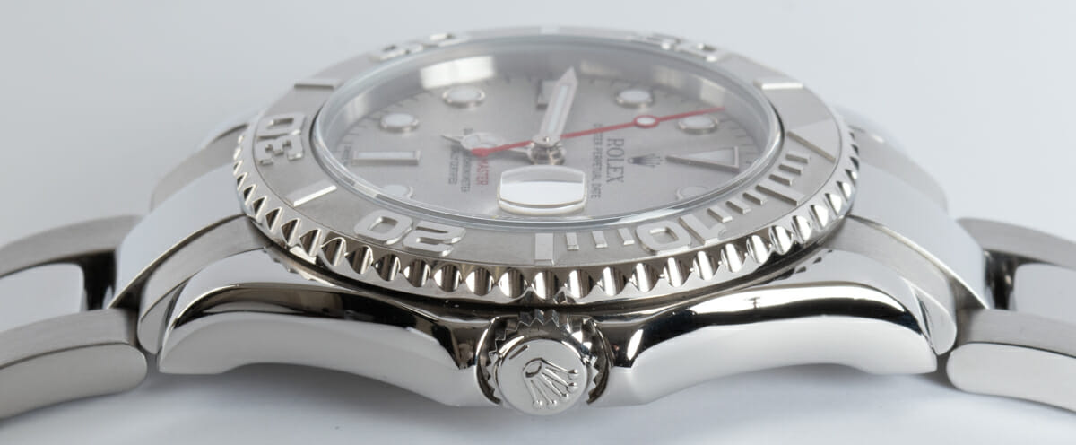 Crown Side Shot of Yacht-Master Midsize
