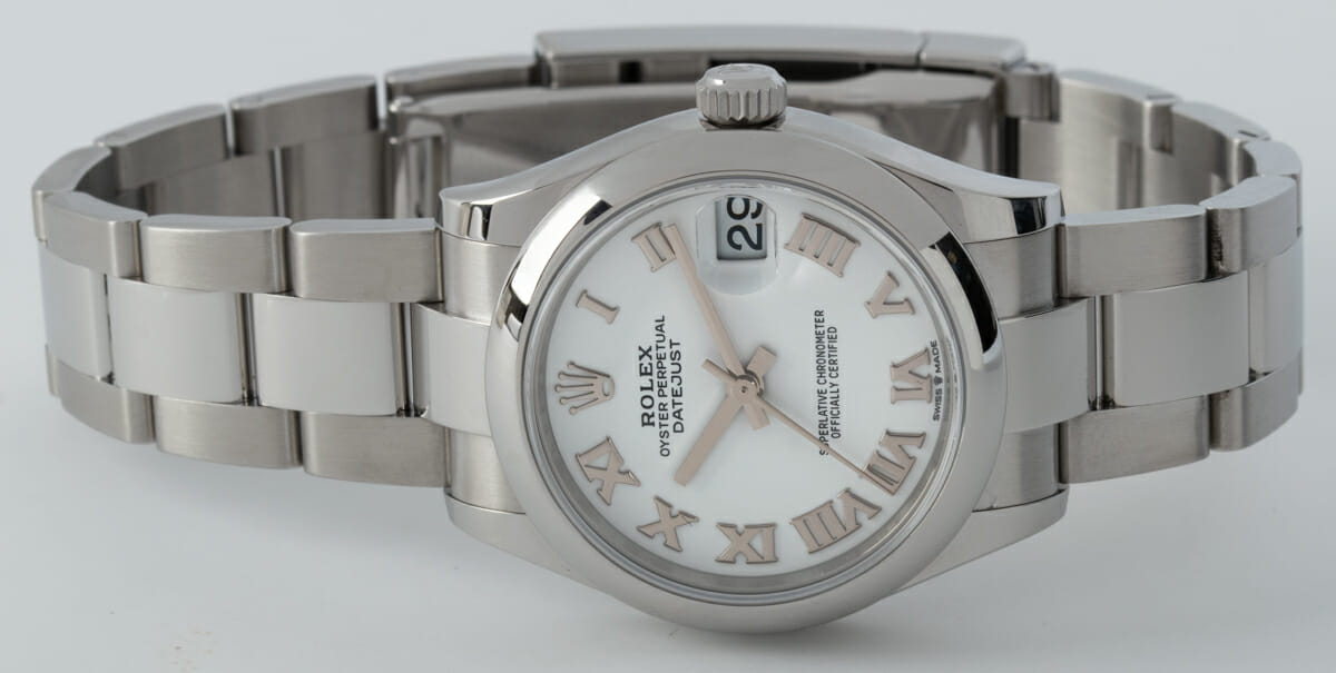 Front View of Datejust Midsize 31