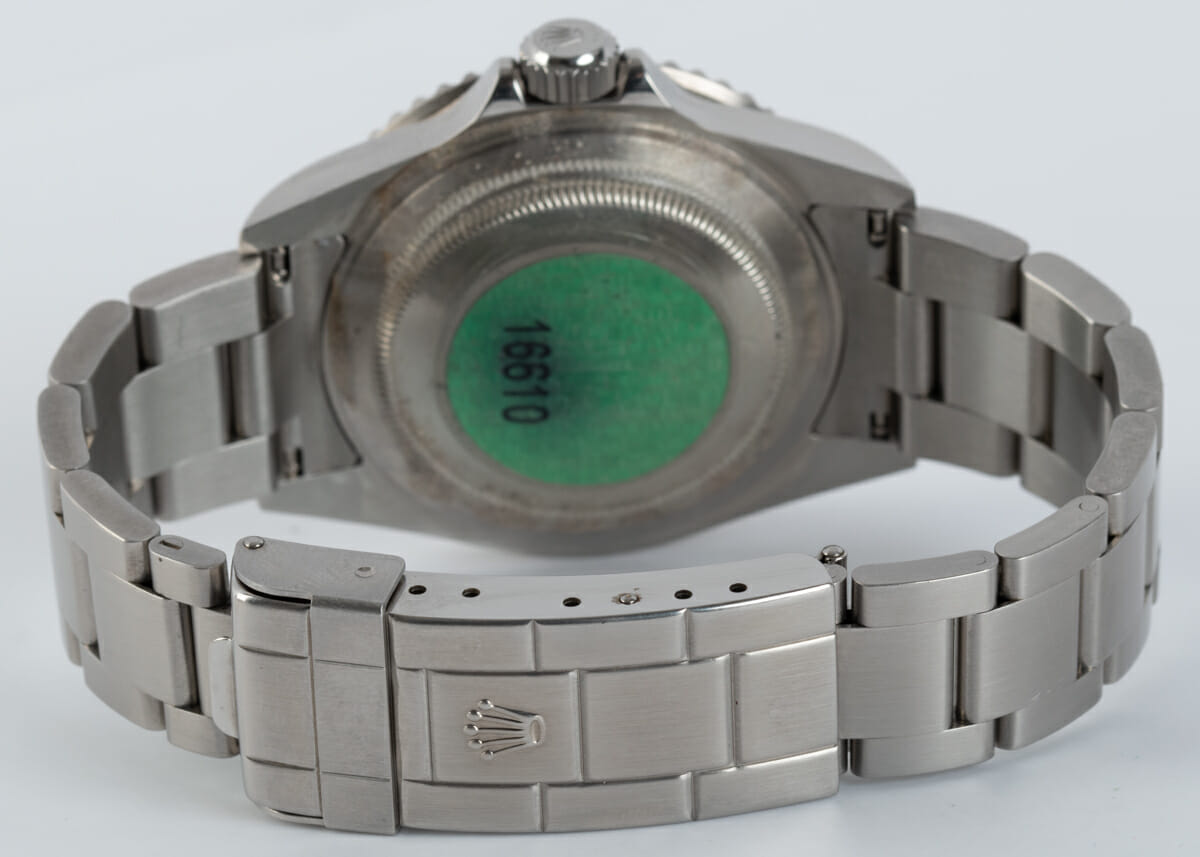 Rear / Band View of Submariner Date - unpolished