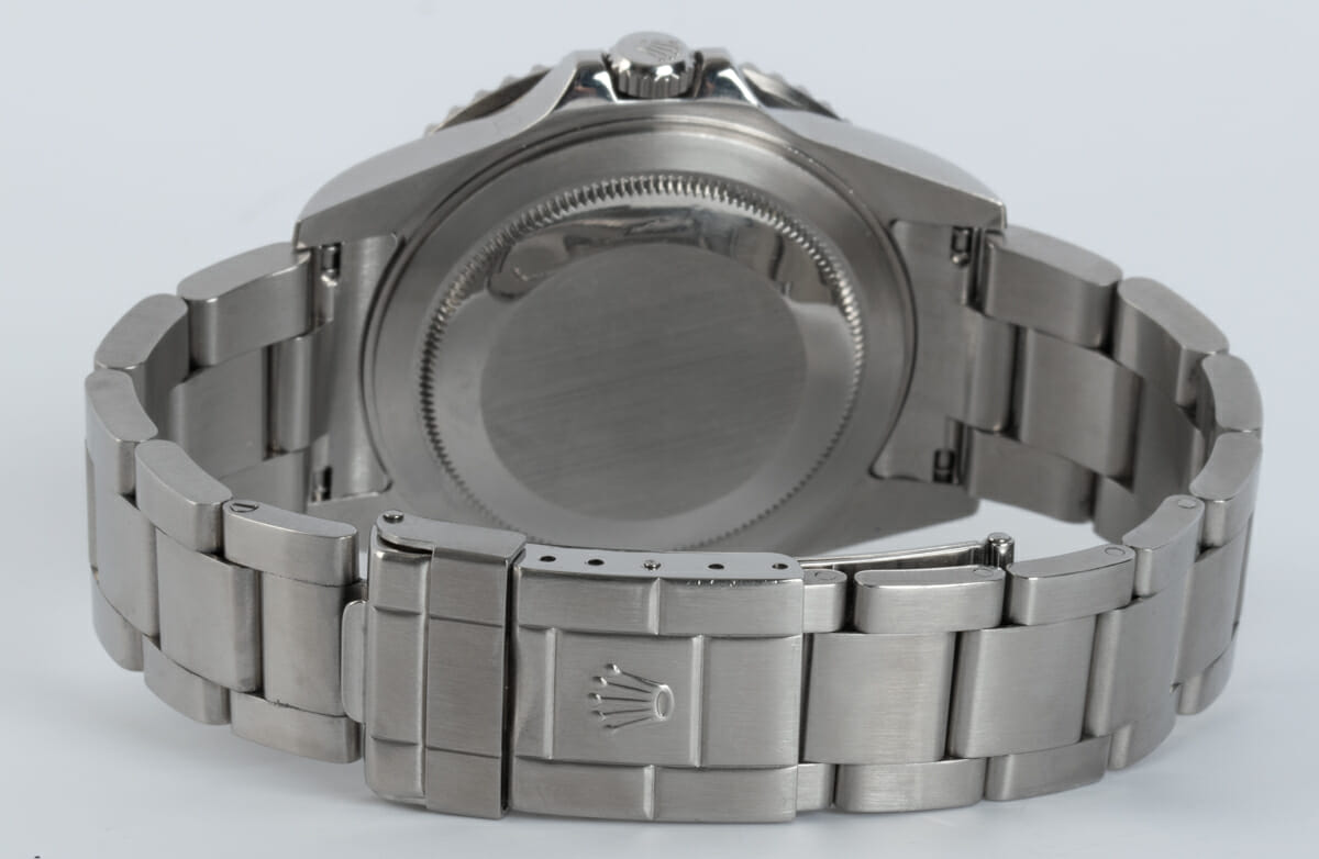 Rear / Band View of GMT-Master II 'Stick Dial'