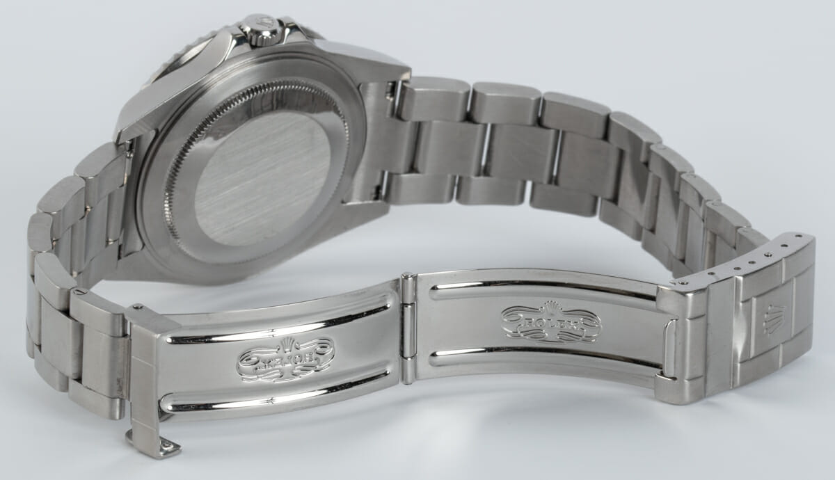Open Clasp Shot of GMT-Master II 'Stick Dial'