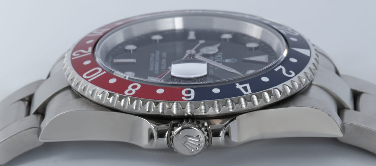Crown Side Shot of GMT-Master II 'Stick Dial'